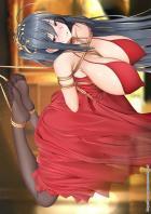 緊縛吊るし上げ女の口マンコと乳マンコ
