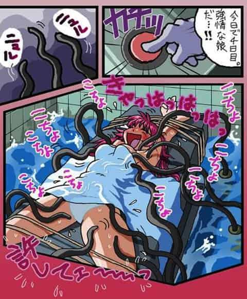 【エロ漫画】くすぐり責めで「あっひゃっひゃっひゃ!死ぬ!死ぬううぅぅ!!」ってイキ狂うまでするエロ拷問とはw 04 【拷問エロ画像】