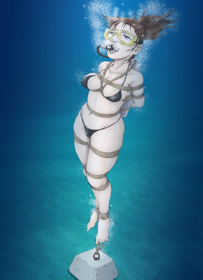 【閲覧注意】着衣状態で水責めにされてる画像ください
