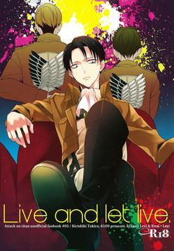 (COMIC CITY SPARK 8) [6109 (Kirishiki Tokico)] Live and let live. (Shingeki no Kyojin) [English]