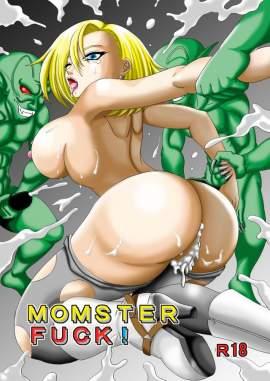 【ドラゴンボール】MOMSTER FUCK!【えろまんが】