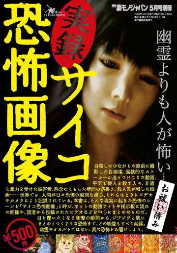 裏モノJAPAN 5月号別冊 実録!サイコ恐怖画像 2008年 05月号