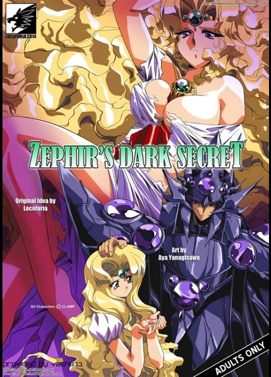 [Aya Yanagisawa] Zephir's Dark Secret (Magic Knight Rayearth)