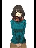 おっぱいセーター厚いコートを脱いだときにこれが出てくるといい冬にしか楽しめないエロス