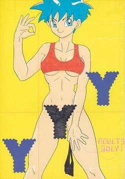 [Chirigami Goya, Fusuma go Ten (Shouji Hariko)] YYY (Dragon Ball)