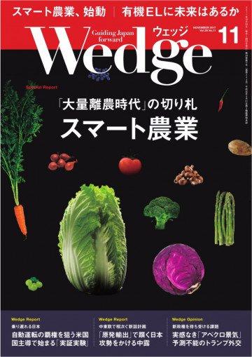 WEDGE(ウェッジ) 2017年11月号
